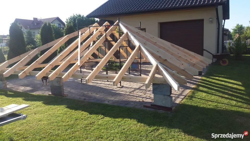Konstrukcje Drewniane Dachy Dach Kopertowy Konstrukcja