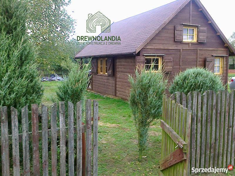 domek letniskowy ogrodowy altana 35 dom drewna Architektura ogrodowa