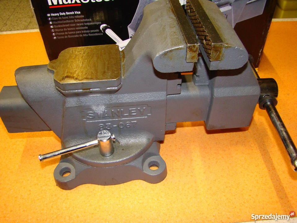 Imadło ślusarskie obrotowe STANLEY 125 mm Ref: 1-83-067