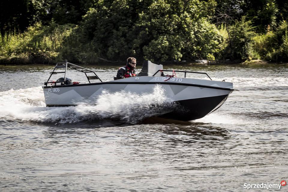 Aluminiowa łódź JTECH F17 Sporty wodne Gdańsk