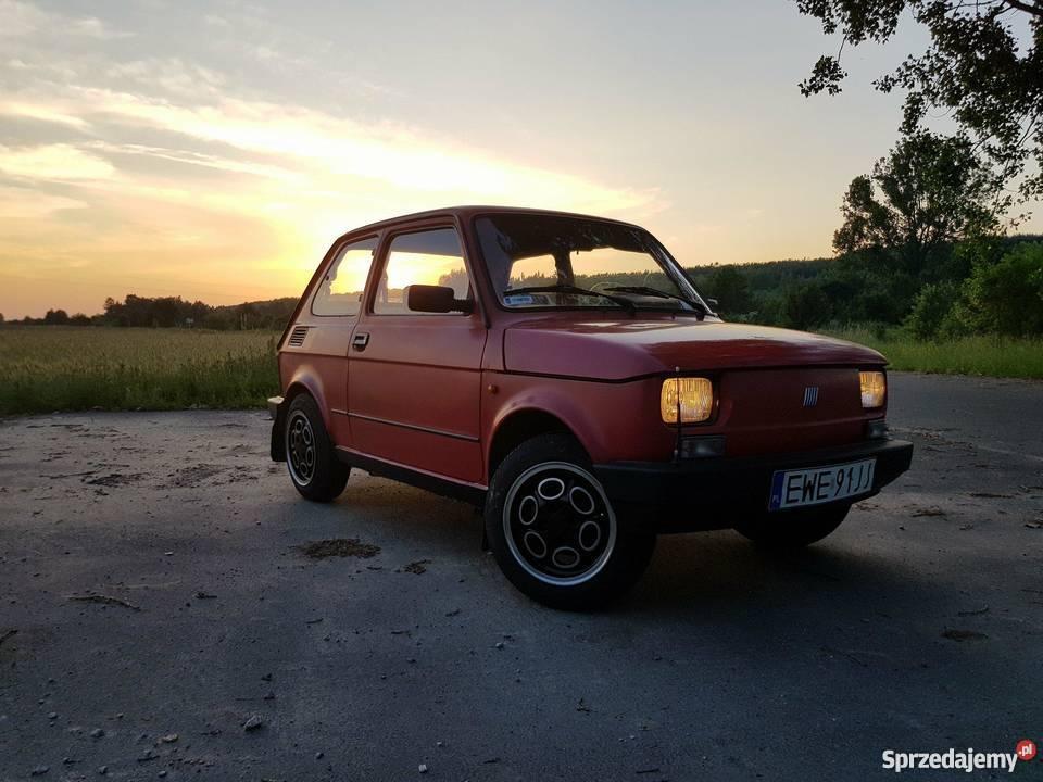 Fiat 126p EL elegant maluch oc przegląd Bełchatów