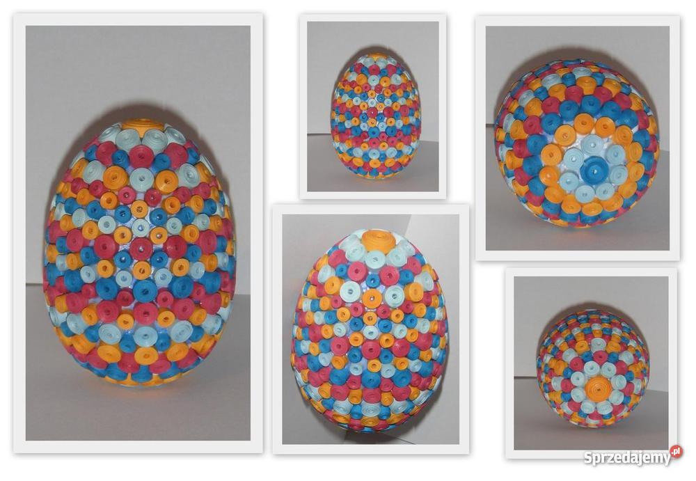 Wielkanocne jajka quilling Olsztyn