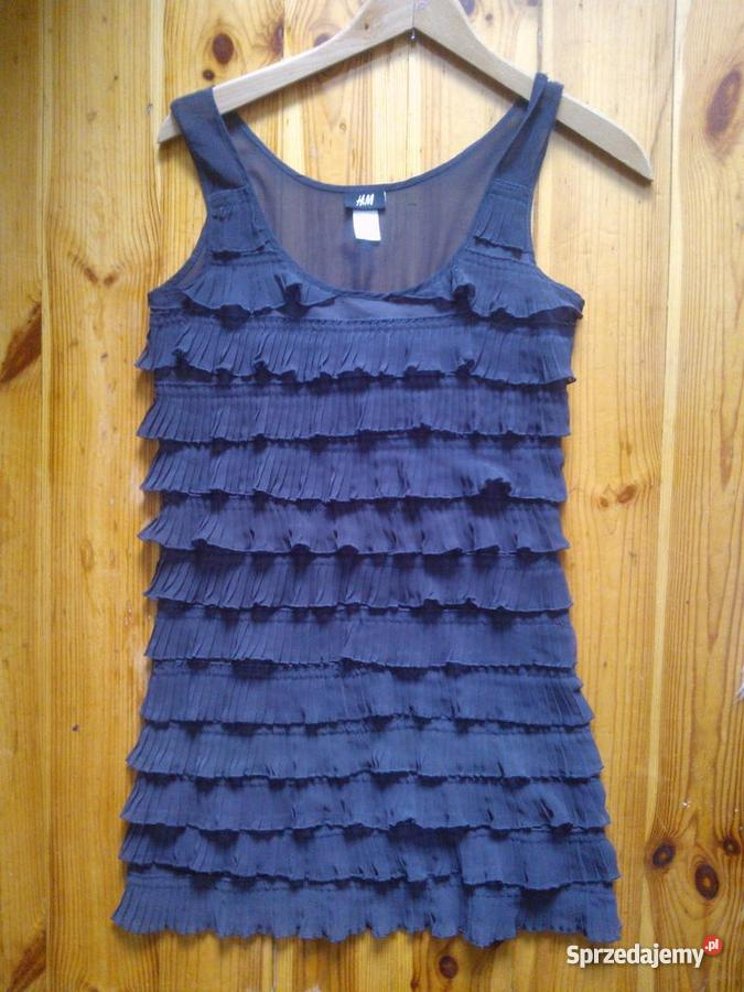 71b449e10f sukienka hm szary srebrny Częstochowa