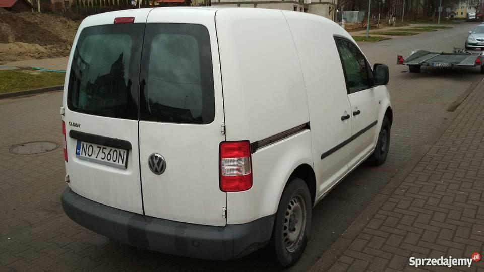 VW Caddy 19 TDI homologacja na ciężarowe Olsztyn