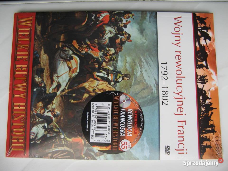 Osprey: Wojny rewolucyjnej Francji, książka + film DVD, Nowa