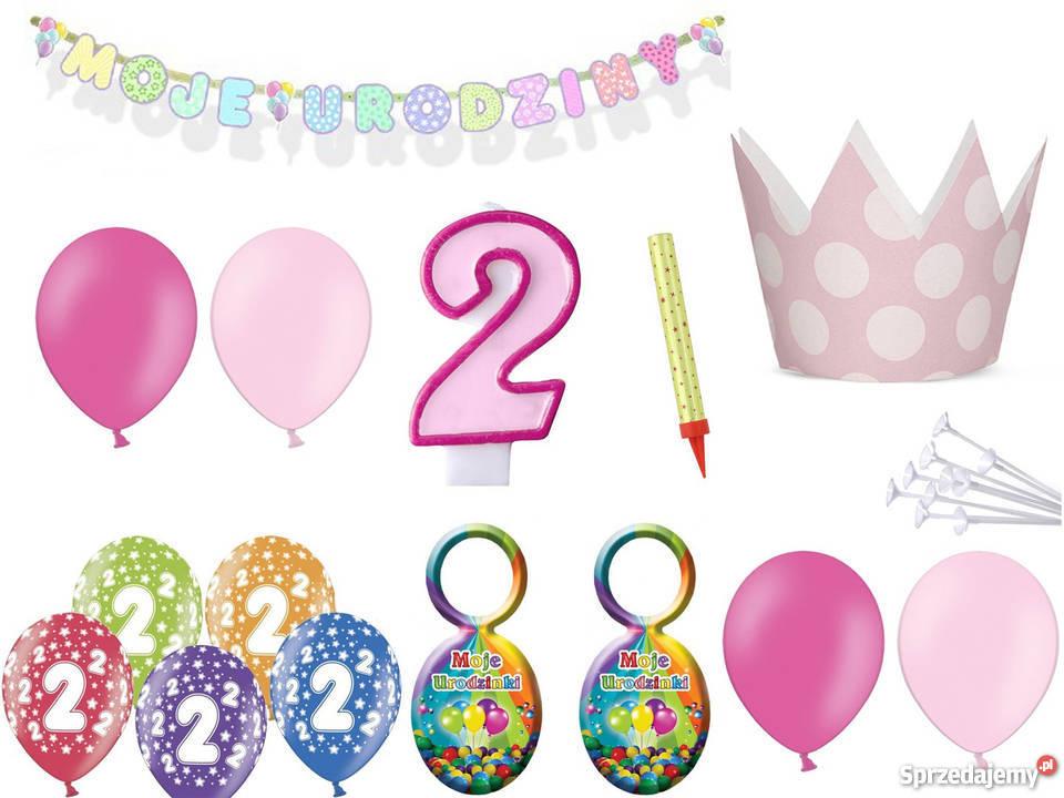 9362ebf077b757 Zestaw dekoracji na 2,3,4,5 urodziny dla dziewczynka,chłopca ...