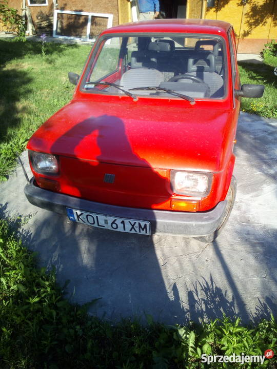 Sprzedam Fiat 126p kupiony w polskim salonie 126 Rodaki sprzedam