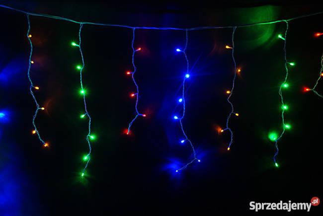Sople Lampki Choinkowe 500 Led Hermetyczne Kurtyna