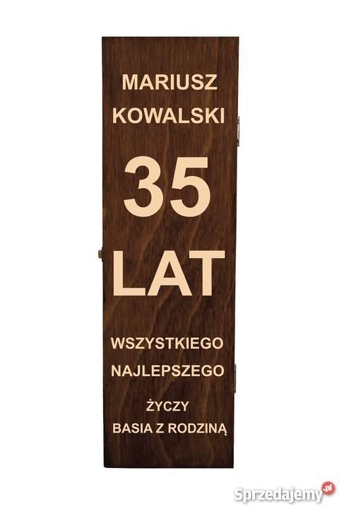 Skrzynka Na Wino Z Grawerem Sw02 Warszawa Sprzedajemypl
