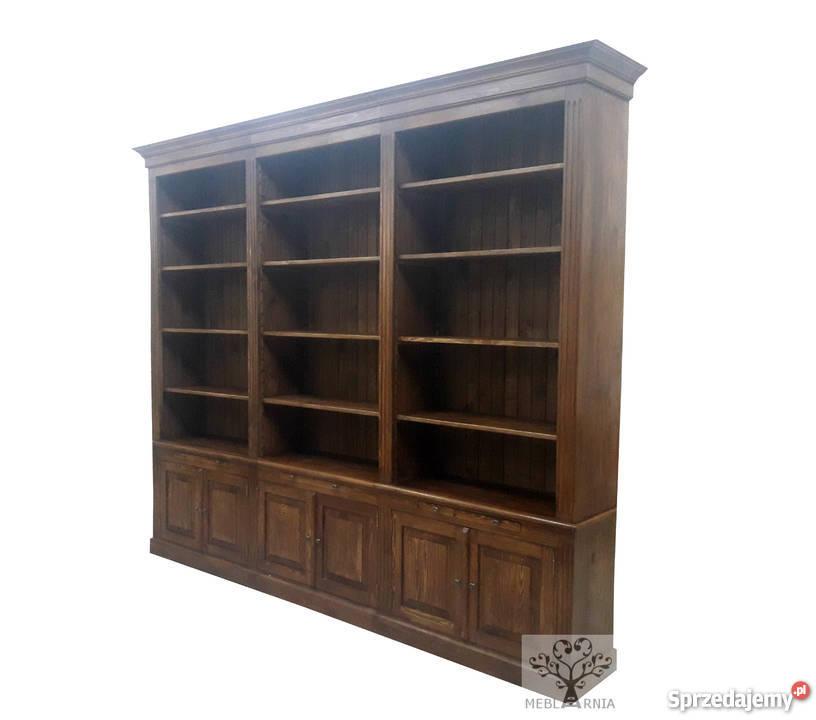 Regał-biblioteczka