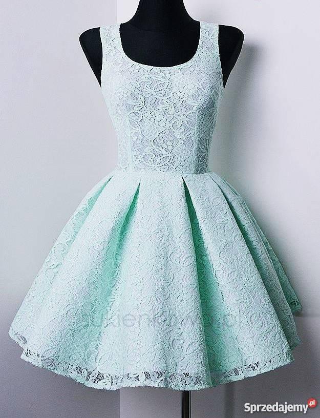 77b9c015ed4b piękna sukienka rozkloszowana wesele Spódnice i sukienki wielkopolskie  Szamotuły