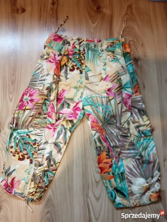 15d68ca93c kwiatowe spodnie - Sprzedajemy.pl