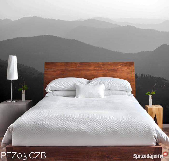 Fototapeta Szara Panorama Czarno Biała Do Sypialni
