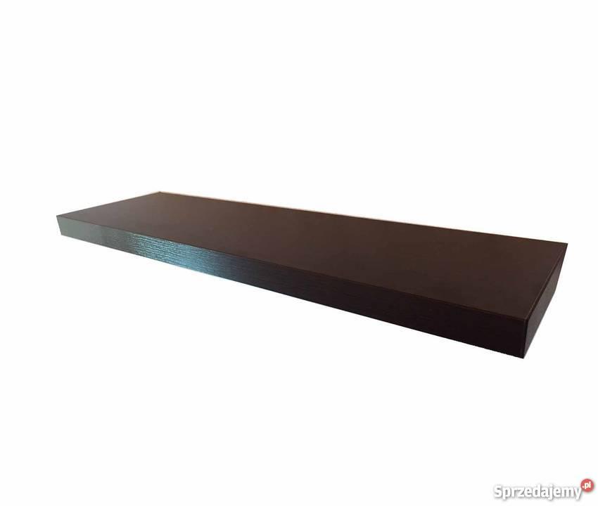 półka wisz.50x15 niewidoczne mocowania różne kolory