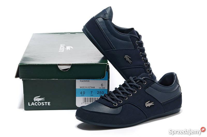 cc1fc1a348ede4 Lacoste męskie granat buty 40 41 42 43 44 45 46 Sportowe śląskie Katowice  sprzedam