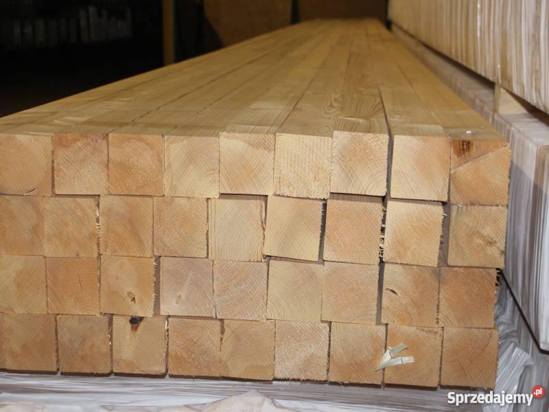 Kantówka 10x10 w dł 13m strugana i suszona Materiały budowlane Mikołów