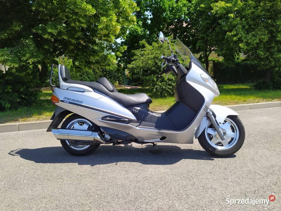 Suzuki Burgman 400 Bardzo zadbany, bez wkładu