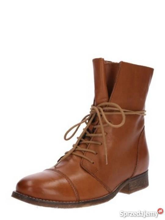 8b04b3a70753b1 sznurowane buty na obcasie - Sprzedajemy.pl