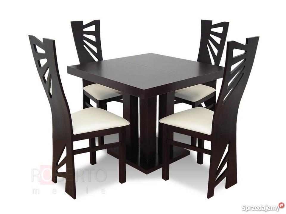 Stół S 34 [90/90/240] + 4 Krzesła K 56-Nowość!