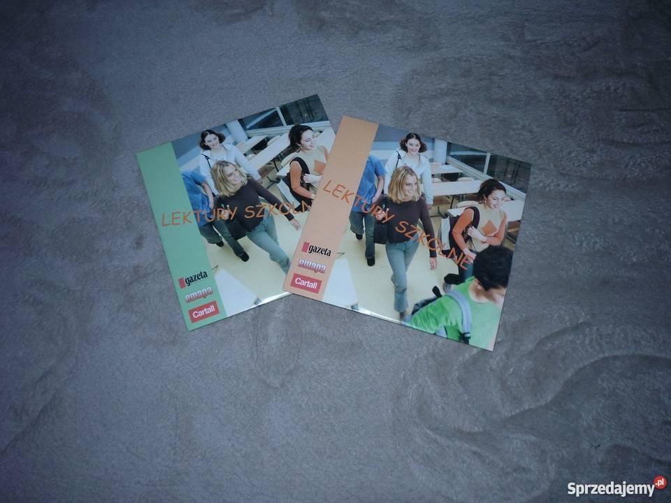 lektury szkolne na cd