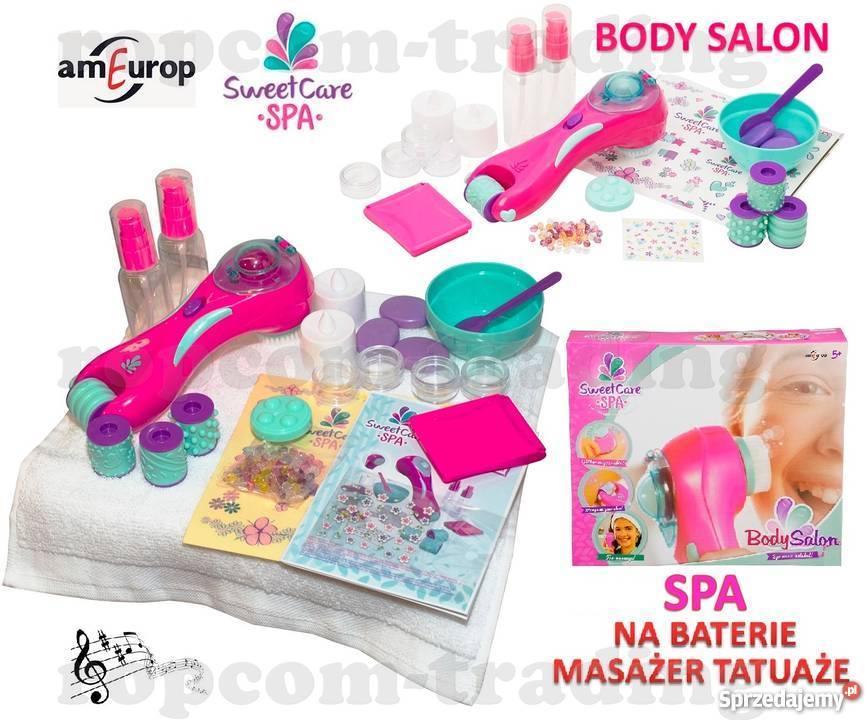 Masażer Na Baterie Tatuaże Akcesoria Spa Dla Dziewczynek