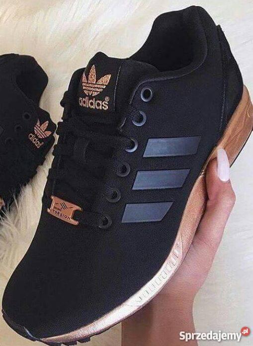 adidas zx flux złota podeszwa