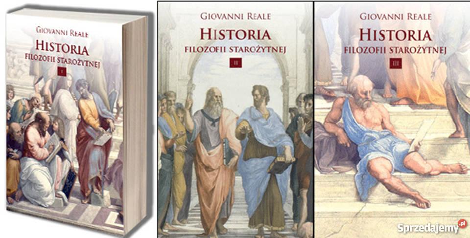 Historia Filozofii STAROŻYTNEJ Tom 123 Giovani filozofia, historia filozofii Książki i Podręczniki
