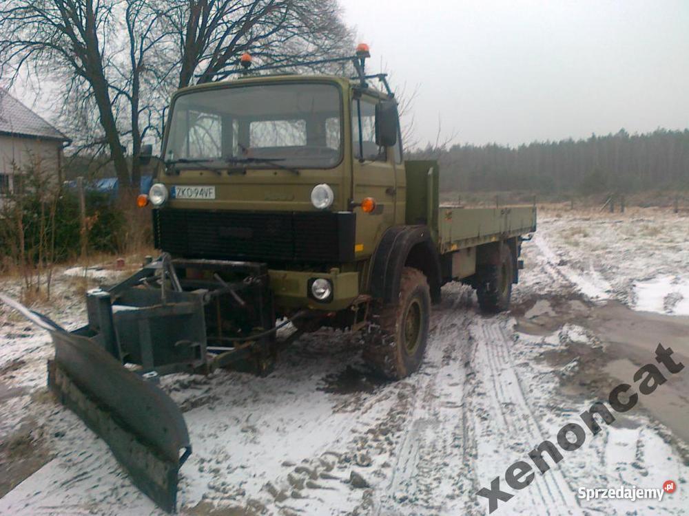 Iveco Magirus 4X4 Wszędołaz piaskarka pług Samochody ciężarowe Koszalin