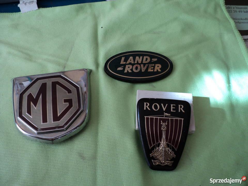MG ROVER znaczki Motoryzacja Bydgoszcz
