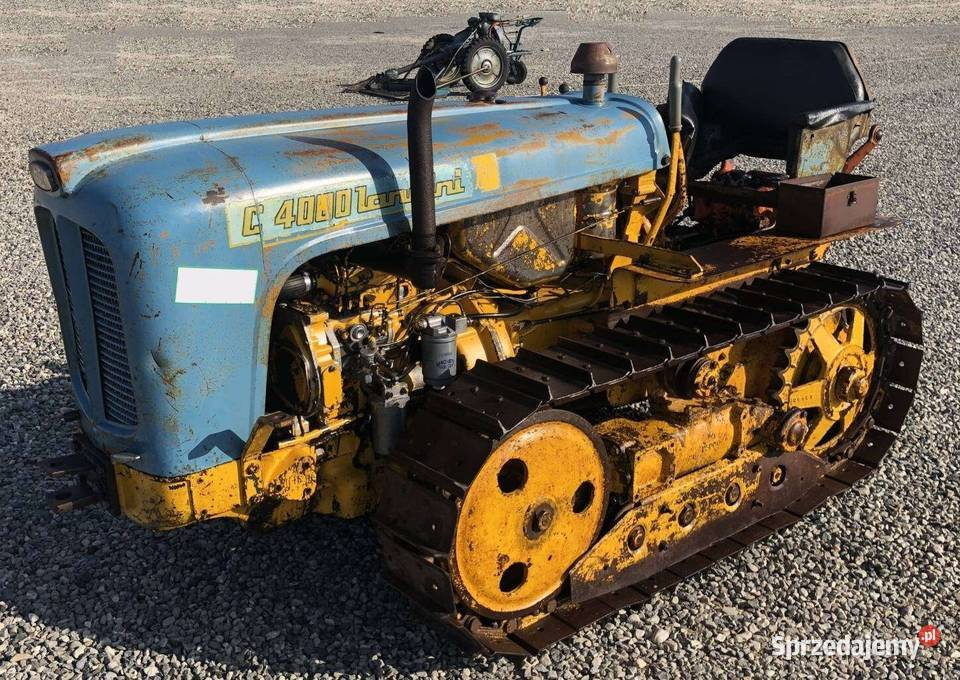 Ciągnik gąsienicowy Landini C4000 40 KM na gąsienicach