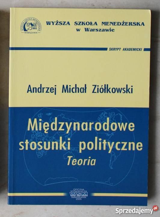 Międzynarodowe stosunki polityczne Andrzej pomorskie