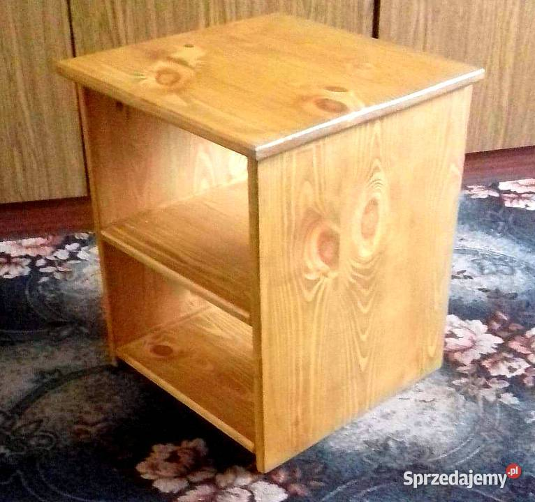 Szafka nocna, stolik nocny drewniany