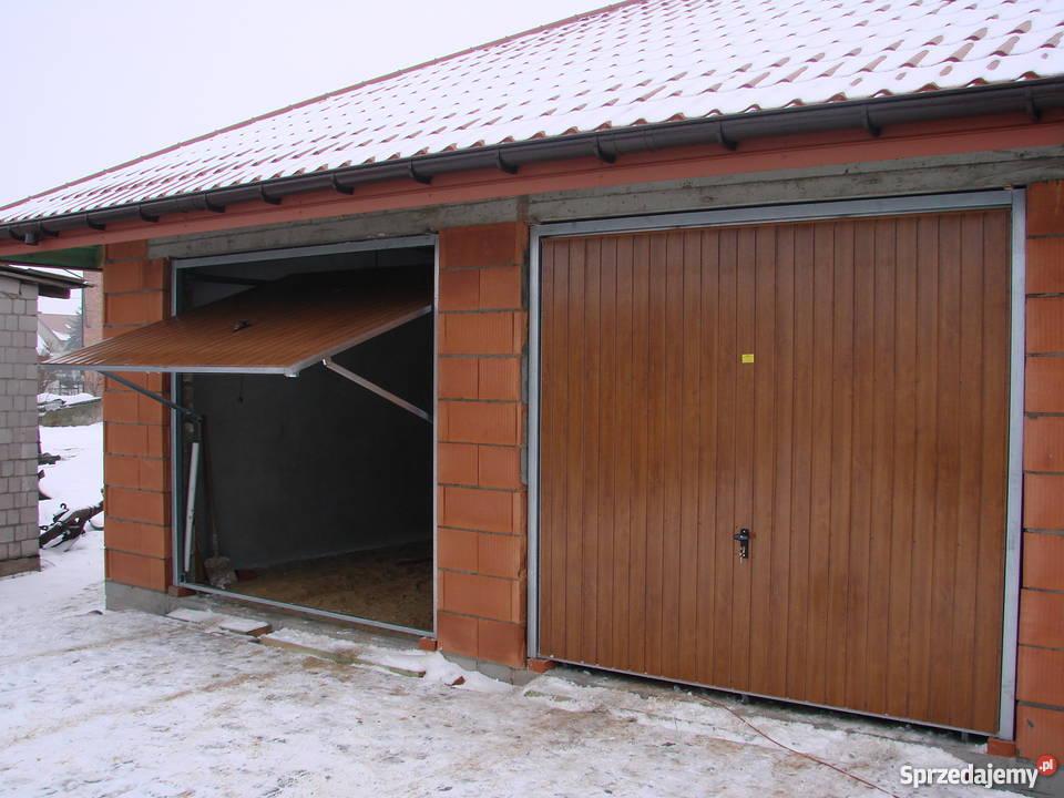 Brama Garazowa Uchylna ORZECH WINCHESTER ZŁOTY Szydłów sprzedam