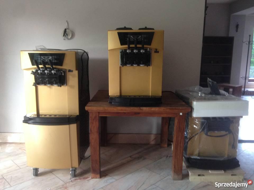 Nowe Automat maszyna do Lodów włoskich Softów Zielonka