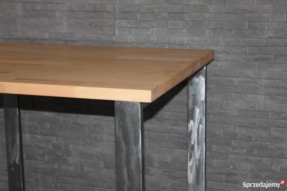 stolik kawowy Loft Industrial styl Metal i 80cm
