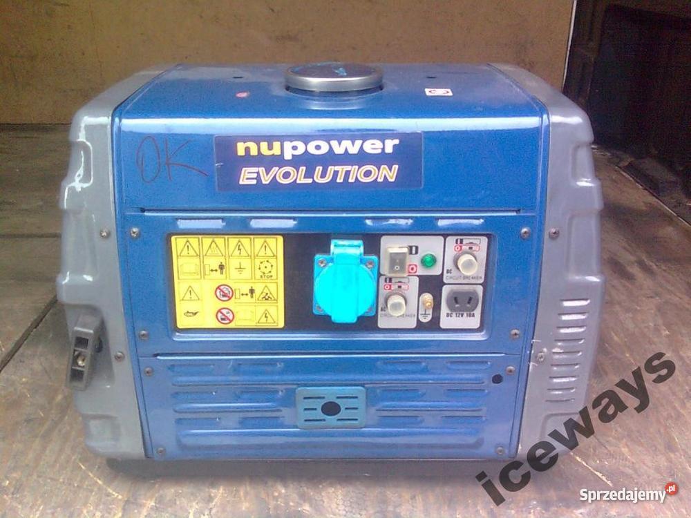 Agregat prądotwórczy inwertorowy 1000 wat