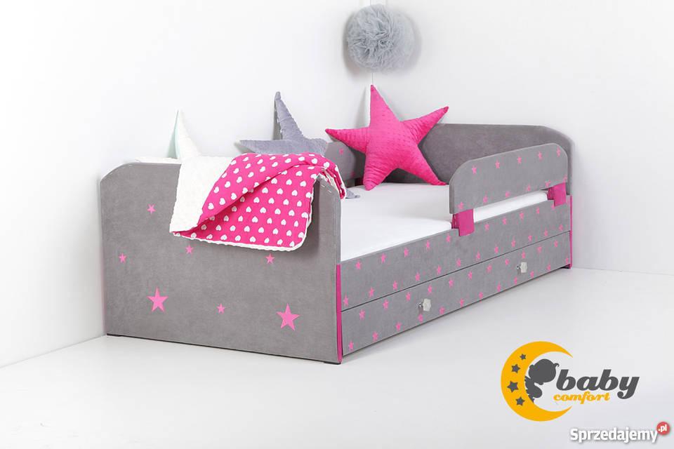 łóżka Tapicerowane Nowoczesne Dla Dzieci W30 Kolorach Haft Rzeszów