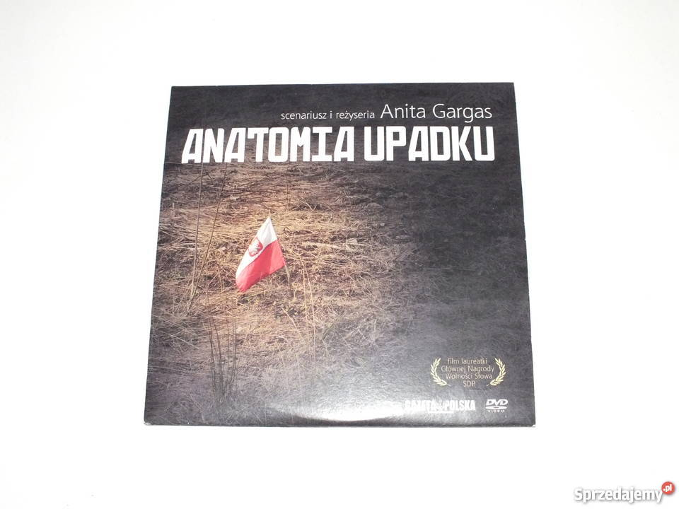 Anatomia upadku film DVD katastrofa smoleńska