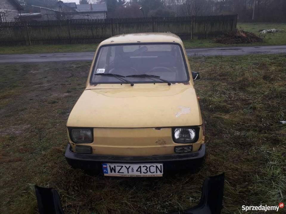 Fiat 126 maluch ZAMIANA SPRZEDAM bez papierów Jesionka