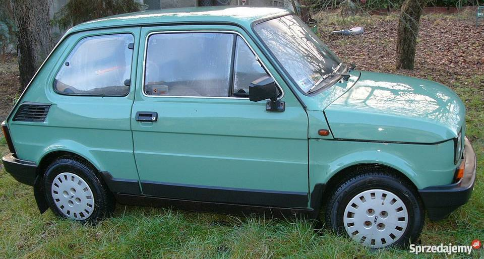 Fiat 126P 650 FL Warszawa