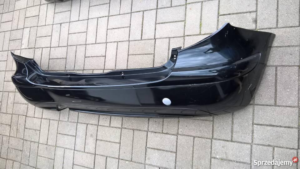 Mercedes Aklasa W169 Tylny zderzak na pdc czarny Lubin