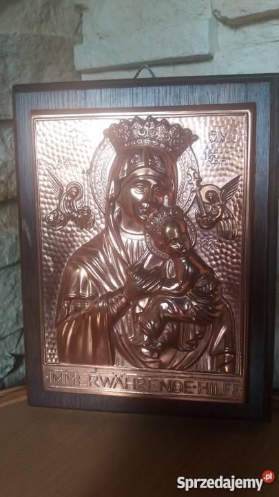 PłaskorzeźbaMatka Boża z Dzieciątkiem Lubień