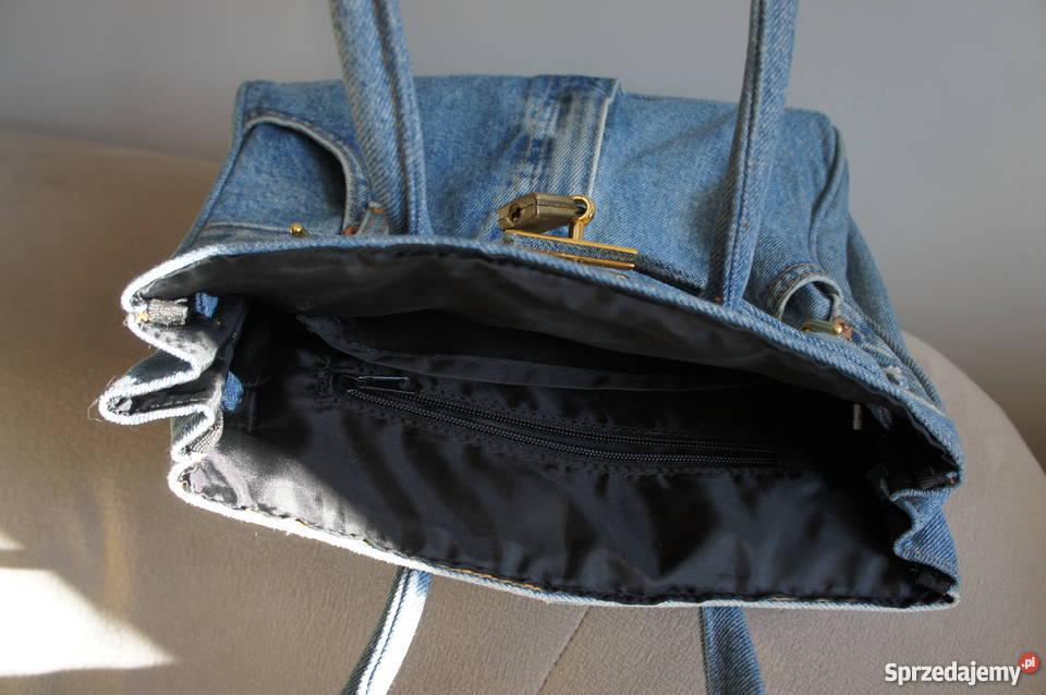 775073025ef5e torebka jeansowa blogerska Dla kobiet dolnośląskie Wrocław