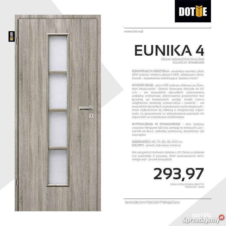 Drzwi Wewnętrzne Dotiie Do Pokoju Do łazienki Eunika