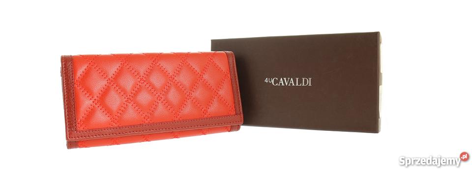1616e362e94a1 Damski portfel skórzany Cavaldi skóra naturalna model 2017 Siedlce ...