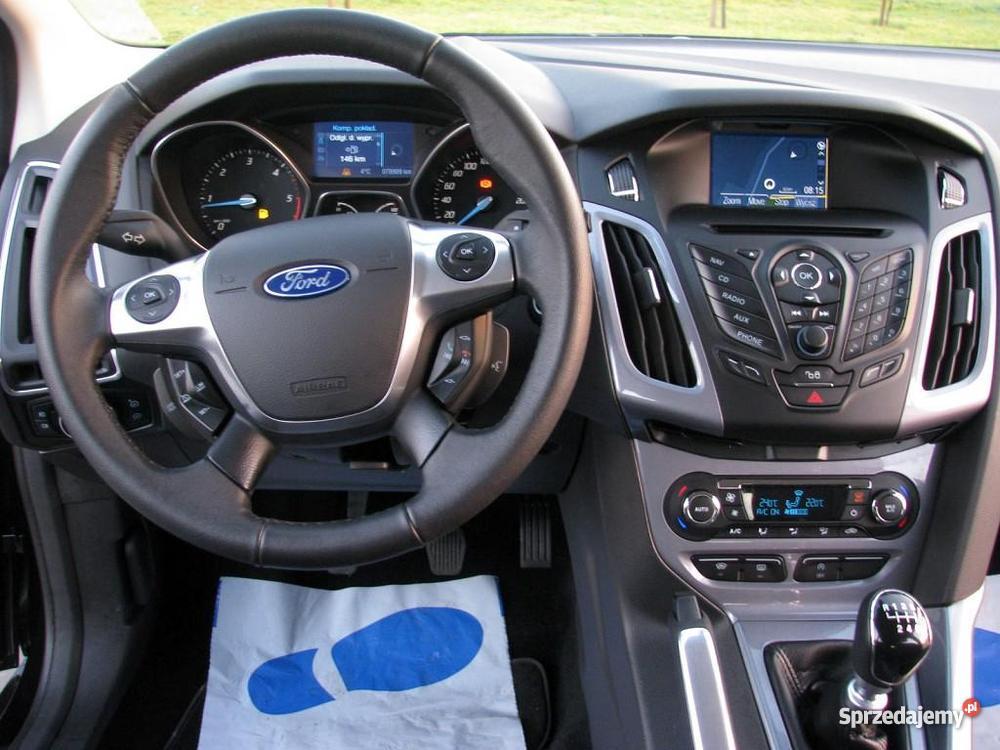 Na Ford Focus Mk3 manualna skrzynia biegów centralny zamek Włocławek