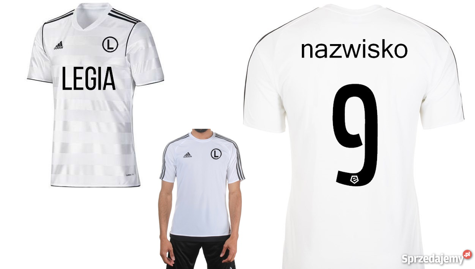 22fedabde KOSZULKA ADIDAS LEGIA WARSZAWA + RETRO PREZENT Kraków - Sprzedajemy.pl