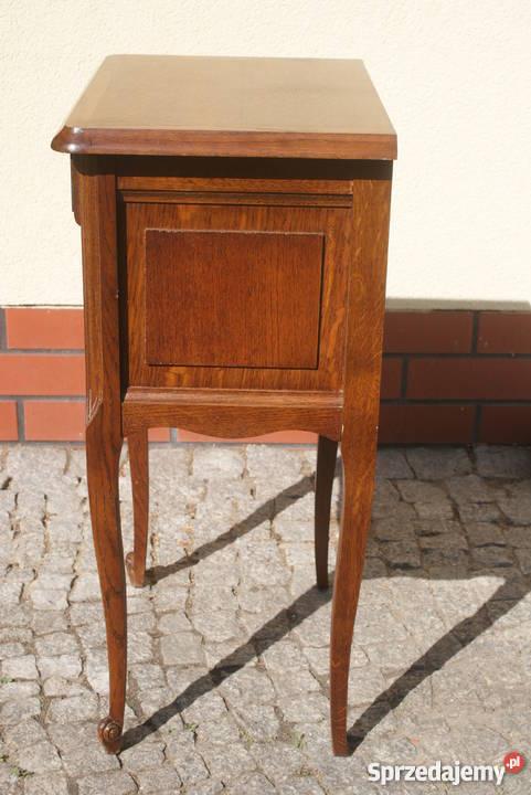 Drewniana komódka szafeczka stolik nocny styl Pozostałe mazowieckie Warszawa