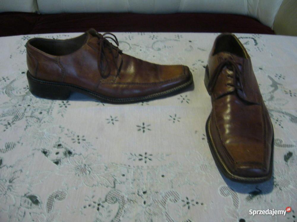 Skórzane buty męskie Gino Rossi Warszawa