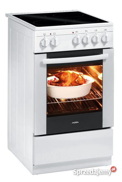 Kuchnia Elektryczna Z Płytą Ceramiczną Mora Cs110gw